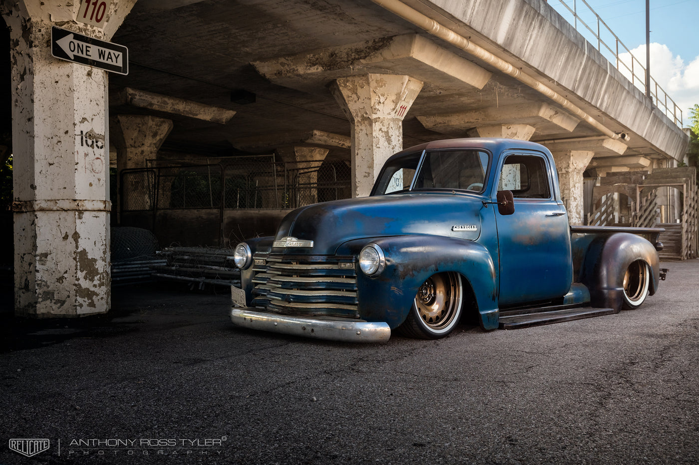 Smith Customs 1950 Pickup Relicate