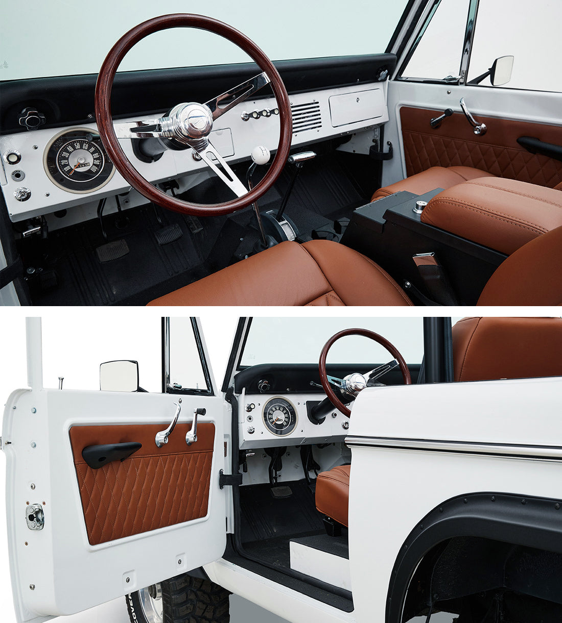 Classic_Ford_Bronco_Relicate_Nappa_Italia_Emberglow_Leather dash door panel