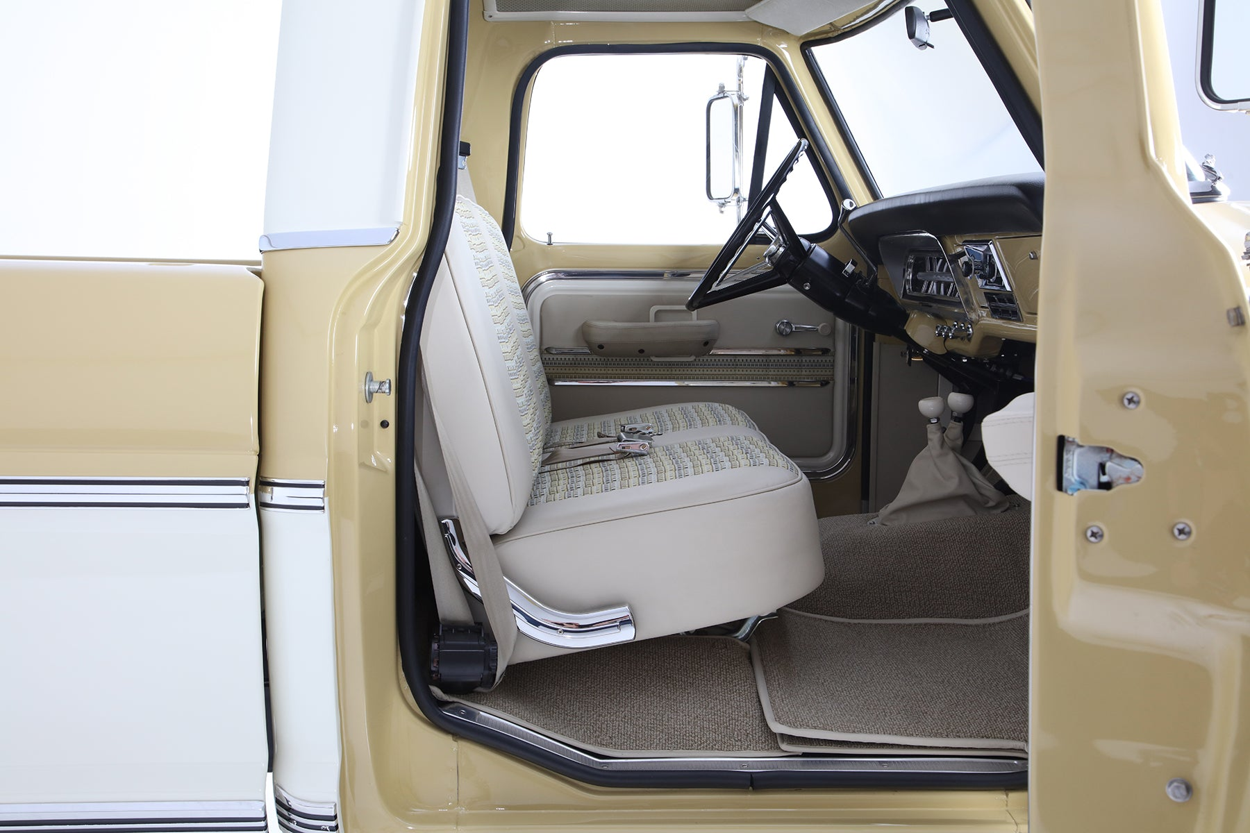 Icon 4x4 Ford F100 Reformer with Relicate Napali Leather Custom Interior