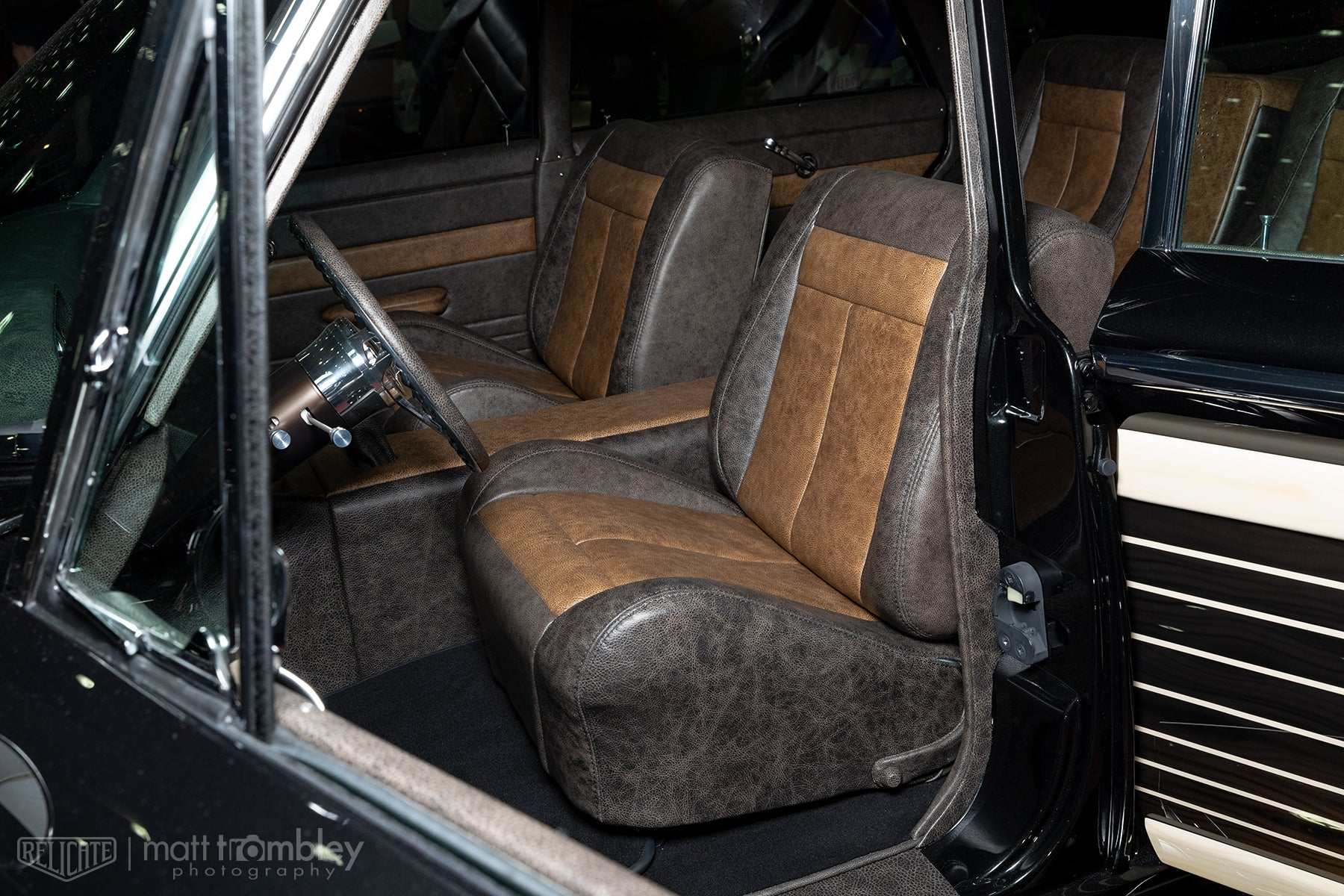 1960 Ford Country Squire Leather Interior