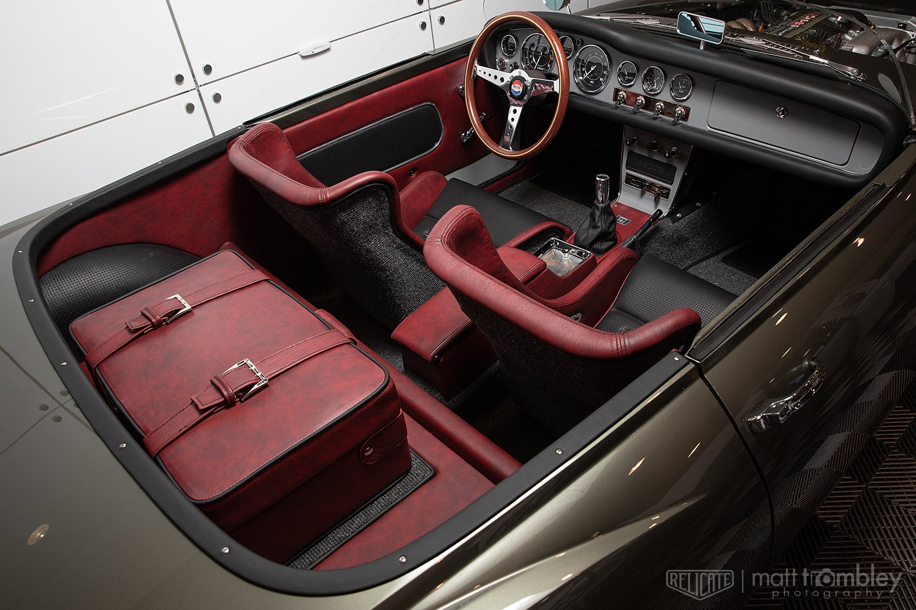 1966 Datsun Fairlady Roadster with Moroccan Distressed Leather Interior