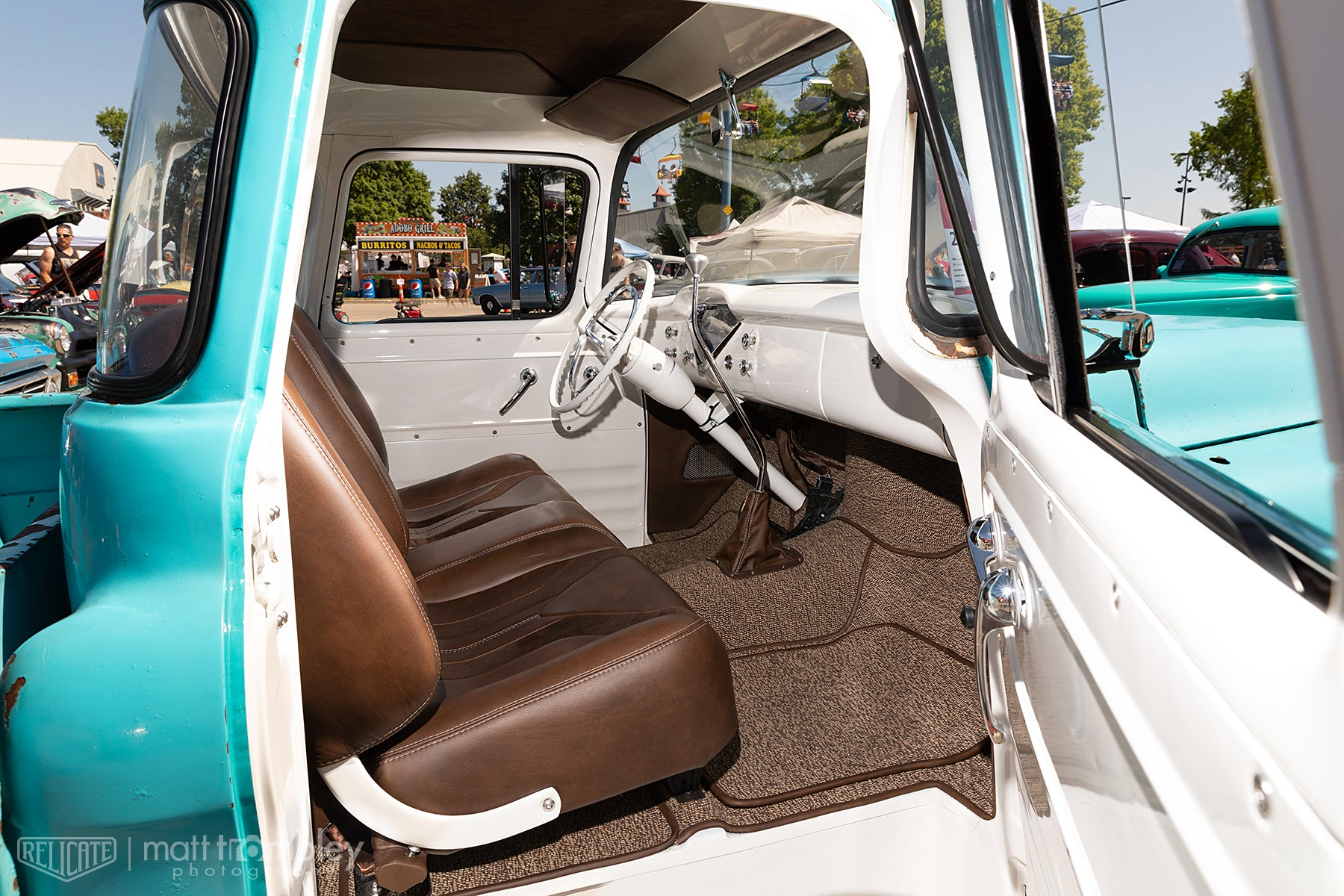 1958 Chevrolet Apache Leather Interior Relicate