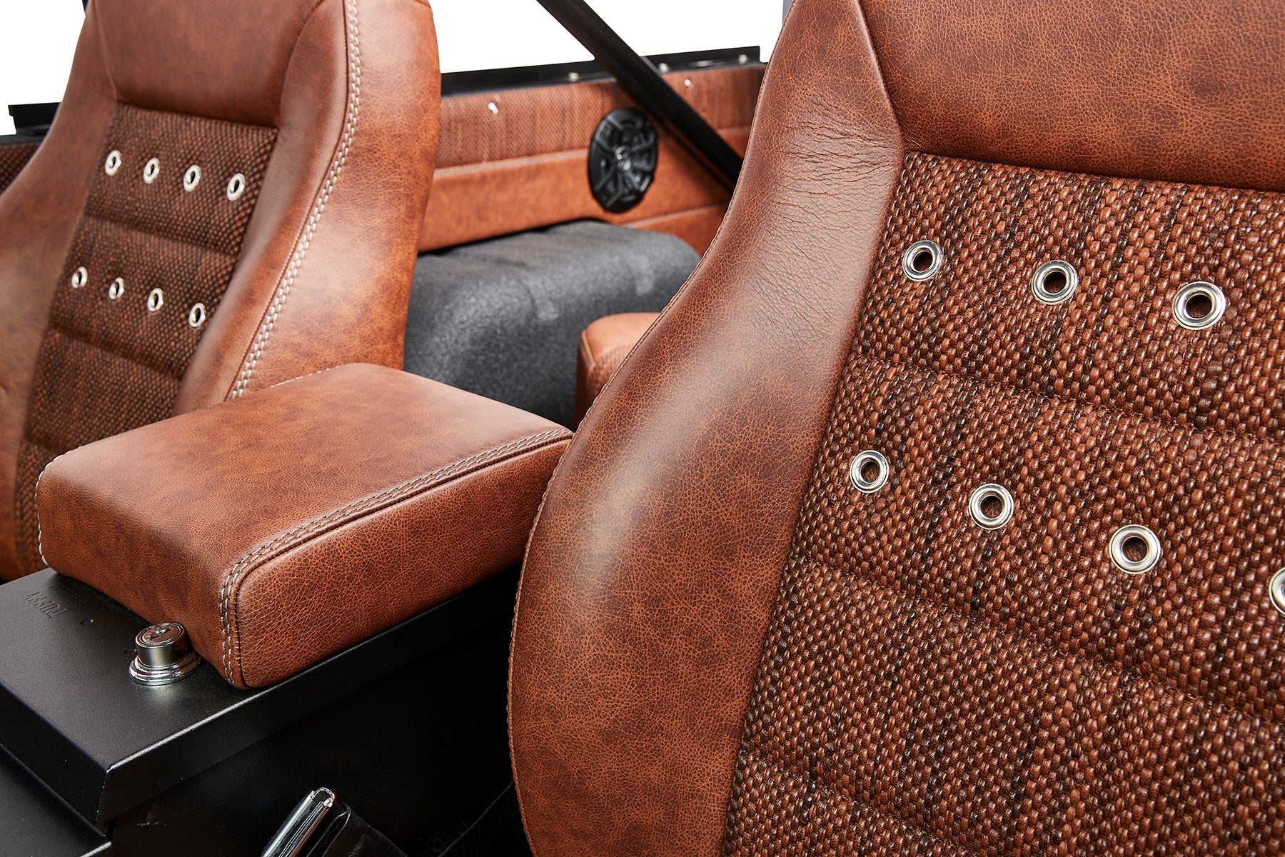 Classic Ford Broncos 1971 Bronco Relicate Llc Interior With Distressed Leather Featuring Woven