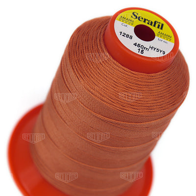 Pinks/Reds/Oranges Serafil Thread 15 (TEX 210) 1288 - Relicate Leather Automotive Interior Upholstery