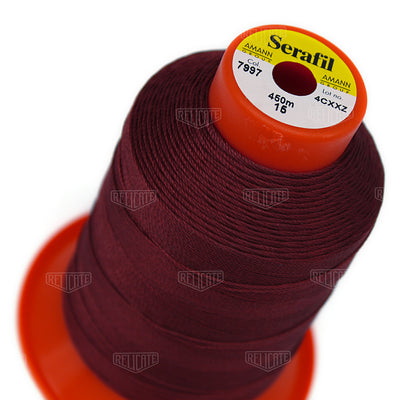 Pinks/Reds/Oranges Serafil Thread 15 (TEX 210) 7997 - Relicate Leather Automotive Interior Upholstery