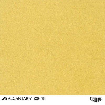 Alcantara EXO Outdoor Product / EXO 1165 Yellow - Special Order - Relicate Leather Automotive Interior Upholstery