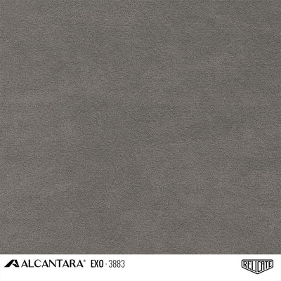 Alcantara EXO Outdoor Product / EXO 3883 Grey - Relicate Leather Automotive Interior Upholstery
