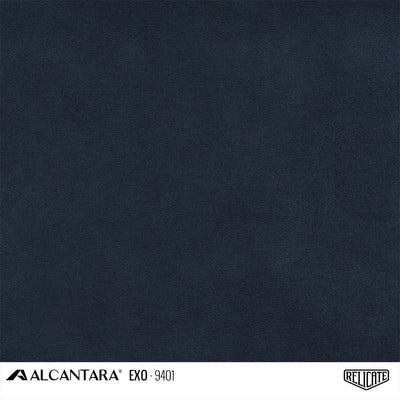 Alcantara EXO Outdoor Product / EXO 9401 Navy Blue - Relicate Leather Automotive Interior Upholstery
