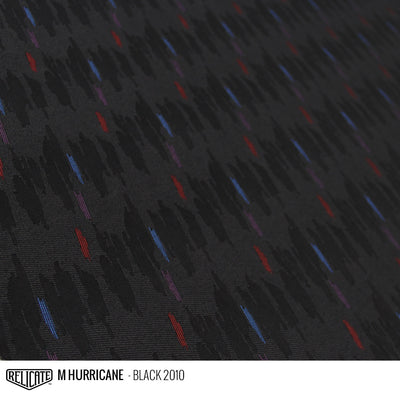 M HURRICANE FABRIC - BLACK  - Relicate Leather Automotive Interior Upholstery