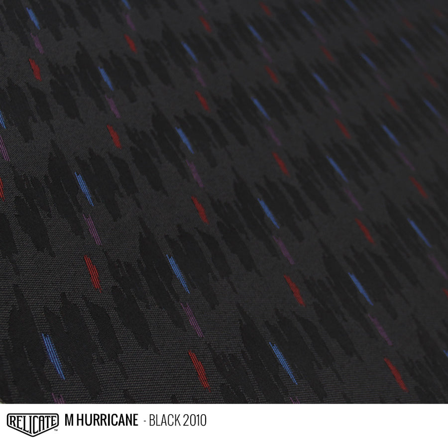 M HURRICANE FABRIC - BLACK Product / Black - Relicate Leather Automotive Interior Upholstery
