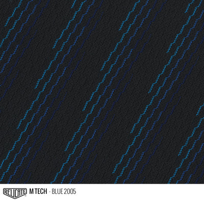 M TECH FABRIC - BLUE Product / Blue - Relicate Leather Automotive Interior Upholstery