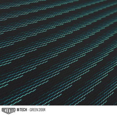 M TECH FABRIC - GREEN  - Relicate Leather Automotive Interior Upholstery
