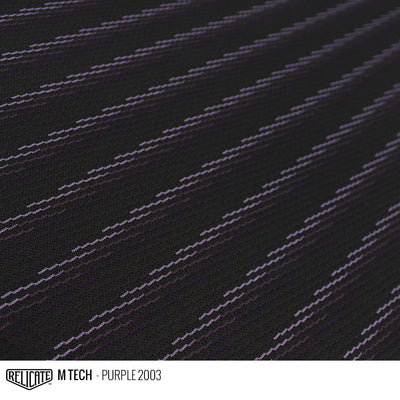 M TECH FABRIC - PURPLE  - Relicate Leather Automotive Interior Upholstery