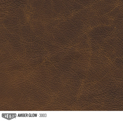 Matte Distressed Leather Hide(s) / Amber Glow 3003 / Full Hide - Relicate Leather Automotive Interior Upholstery