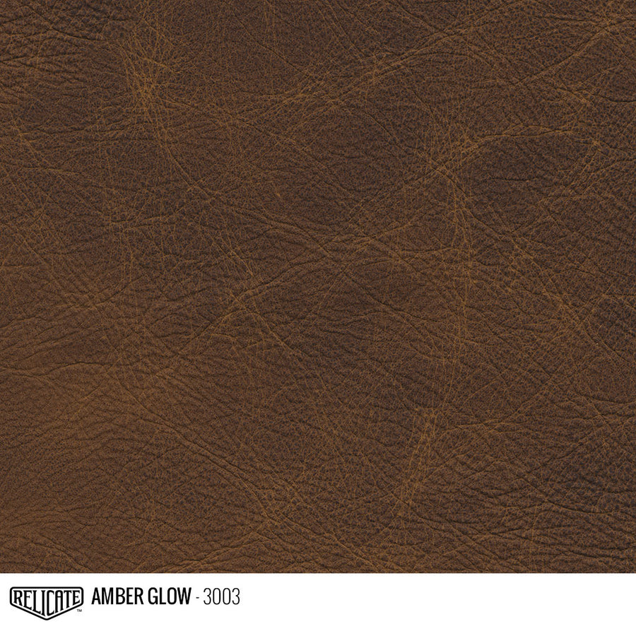 Amber Glow Product / 1/4 Hide - Relicate Leather Automotive Interior Upholstery