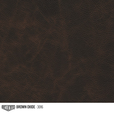 Matte Distressed Leather Hide(s) / Brown Oxide 3016 / Full Hide - Relicate Leather Automotive Interior Upholstery