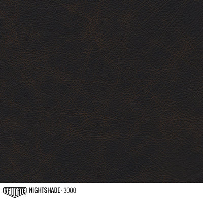 Matte Distressed Leather Hide(s) / Nightshade 3000 / 1/2 Hide - Relicate Leather Automotive Interior Upholstery