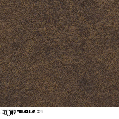 Matte Distressed Leather Hide(s) / Vintage Oak 3011 / Full Hide - Relicate Leather Automotive Interior Upholstery