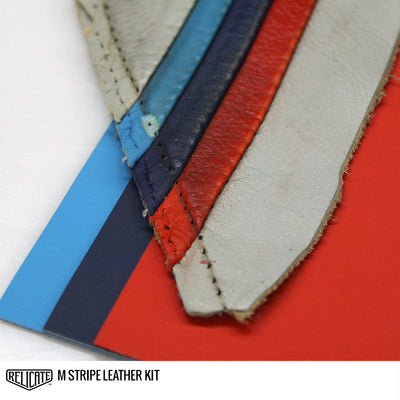 M STRIPE LEATHER KIT  - Relicate Leather Automotive Interior Upholstery