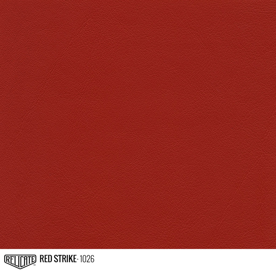 Red Strike Product / 1/4 Hide - Relicate Leather Automotive Interior Upholstery