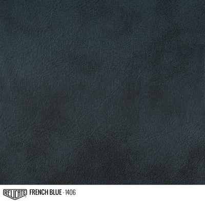 Classic Antiqued Leather French Blue - 1406 / Hide(s) - Relicate Leather Automotive Interior Upholstery