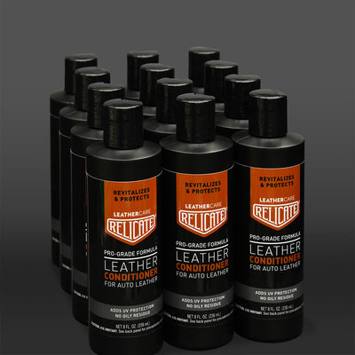 Relicate Leather Conditioner 12 pk Case - Relicate Leather Automotive Interior Upholstery