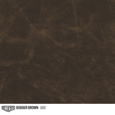 Flat Distressed Leather Hide(s) / Bobber Brown 6101 / 1/2 Hide - Relicate Leather Automotive Interior Upholstery
