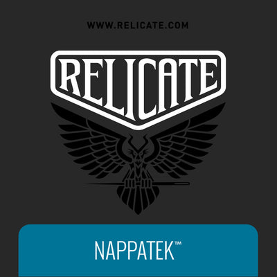 NappaTek™ Synthetic Leather - Black  - Relicate Leather Automotive Interior Upholstery