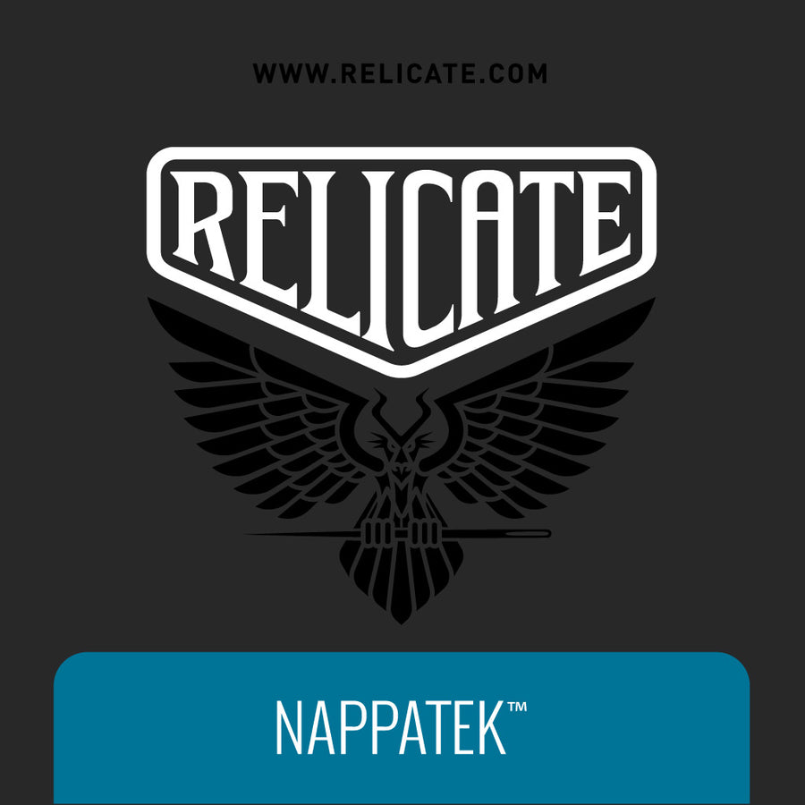 NappaTek™ Synthetic Leather - Black Product / Black - Relicate Leather Automotive Interior Upholstery
