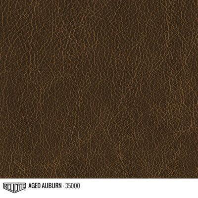 Satin Distressed Leather Hide(s) / Aged Auburn 35000 / Full Hide - Relicate Leather Automotive Interior Upholstery