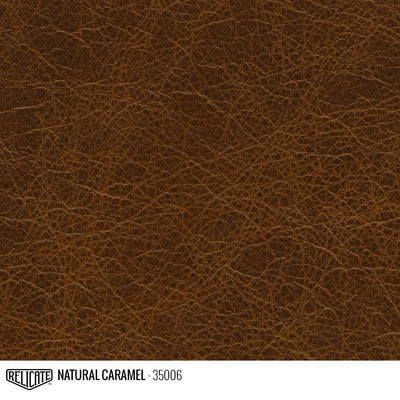 Satin Distressed Leather Hide(s) / Natural Caramel 35006 / Full Hide - Relicate Leather Automotive Interior Upholstery