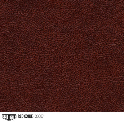 Satin Distressed Leather Hide(s) / Red Oxide 35007 / Full Hide - Relicate Leather Automotive Interior Upholstery