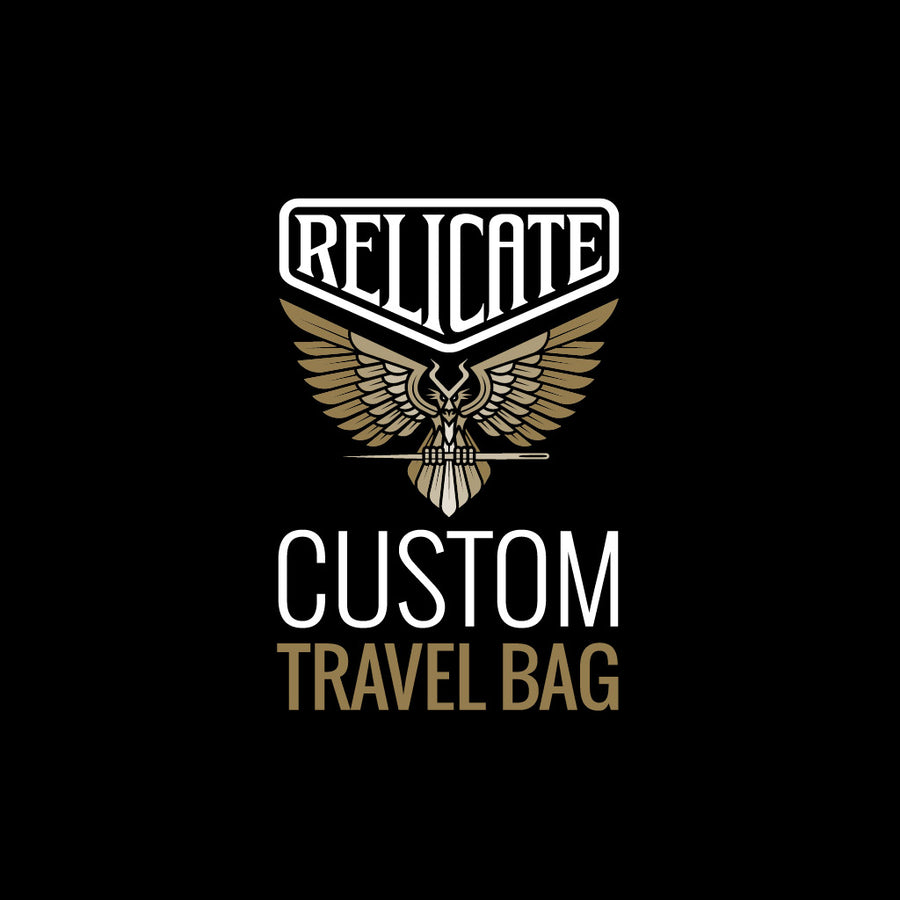 Travel Bag - Custom  - Relicate Leather Automotive Interior Upholstery