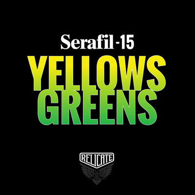 Yellows/Greens Serafil Thread 15 (TEX 210)  - Relicate Leather Automotive Interior Upholstery