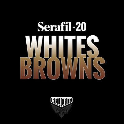 Whites/Browns Serafil Thread 20 (TEX 135)  - Relicate Leather Automotive Interior Upholstery
