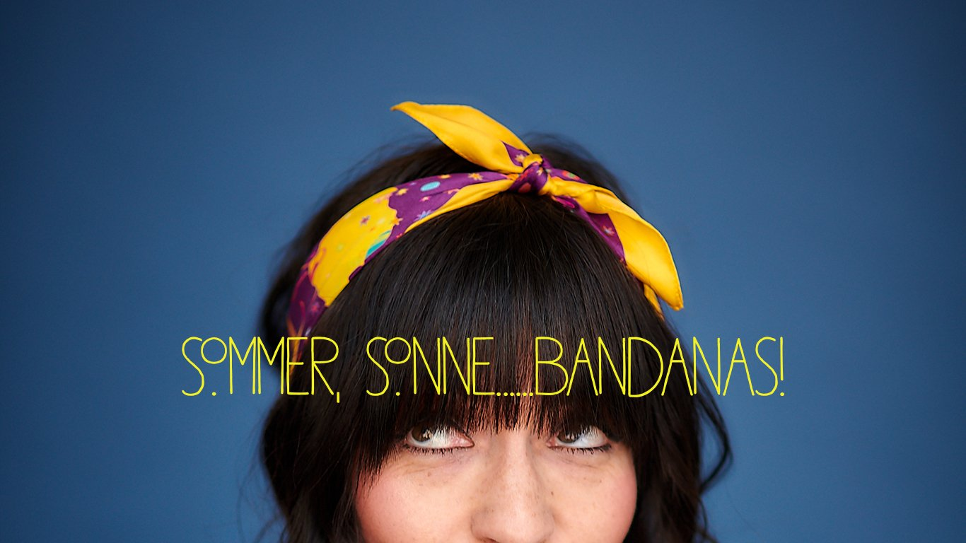 Sommer, Sonne, Bandanas, with love, Berlin