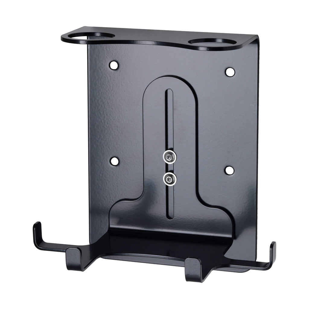 Security Double Wall-Mounted Holder (300ml Satin Black)