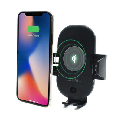 Bolt Wireless Qi Charger Car Mount for Phones w/ Easy Auto Sense