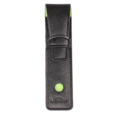 faux leather stylus case is custom designed to fit your Apex fine tip stylus