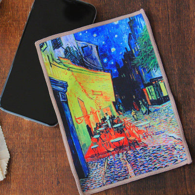 Smartie Microfiber Cloth - Cafe on the Terrace by van Gogh