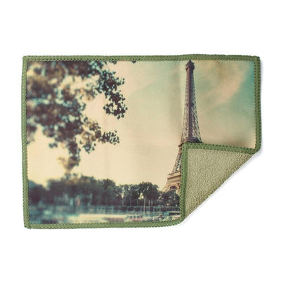 Eiffel Tower in Paris microfiber screen cloth provides the best scratch-free, liquid-free cleaning for iPad and tablets