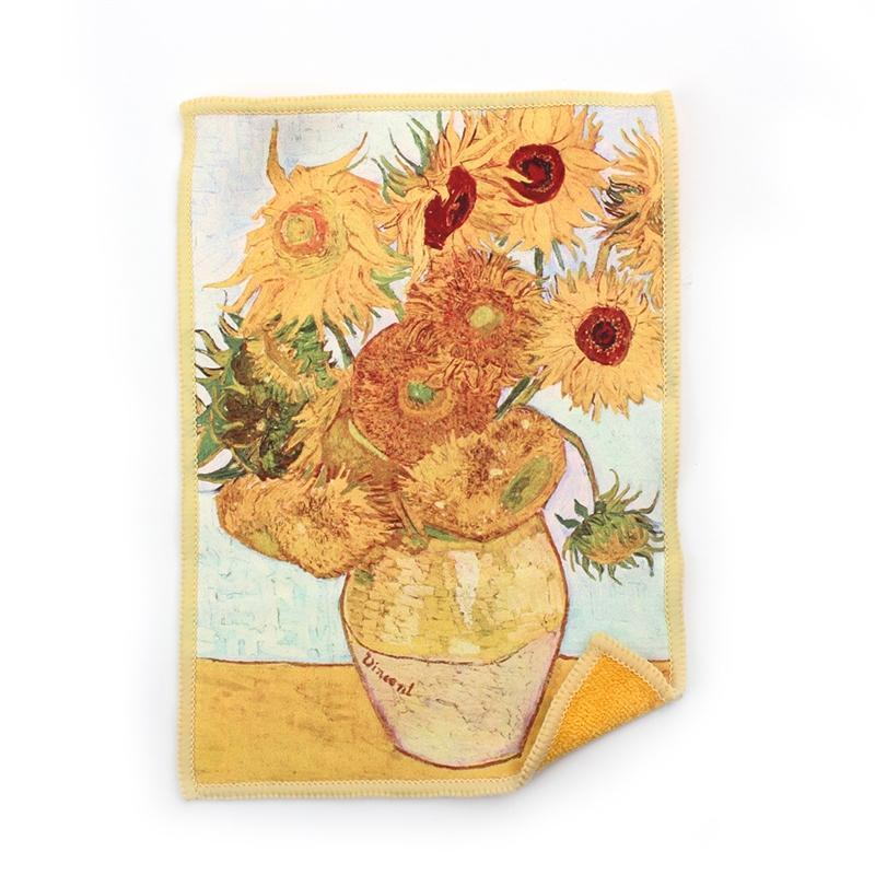 image of sunflowers in vase van gogh