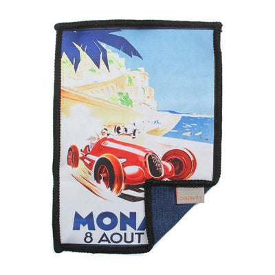 This Grand Prix of Monaco retro race day microfiber cloth provides the best cleaning for iPad without the need for liquids