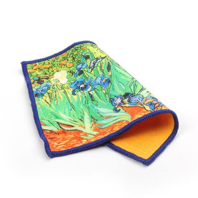 Smartie Microfiber Cloth - Irises