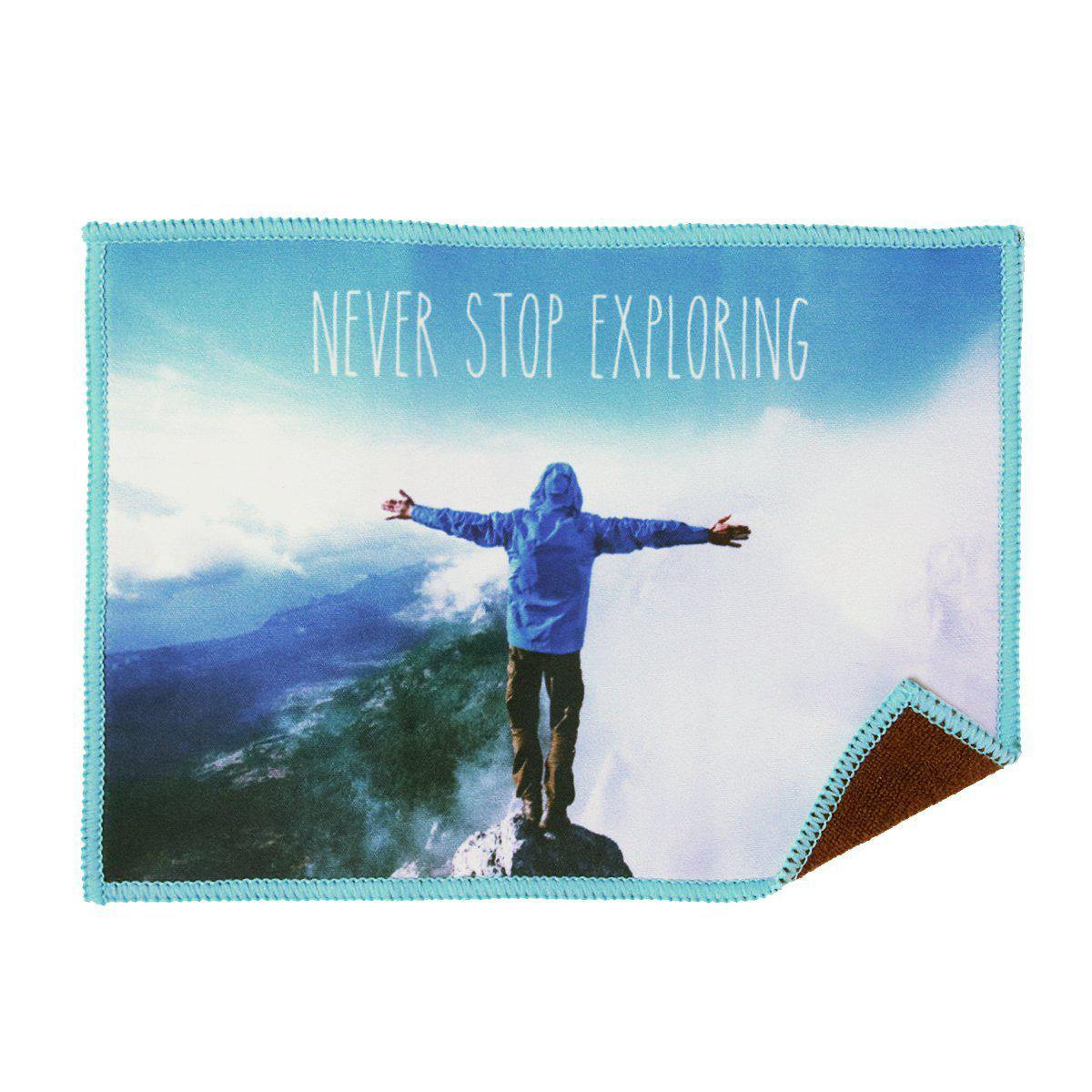 Smartie Microfiber Cloth - Never Stop Exploring