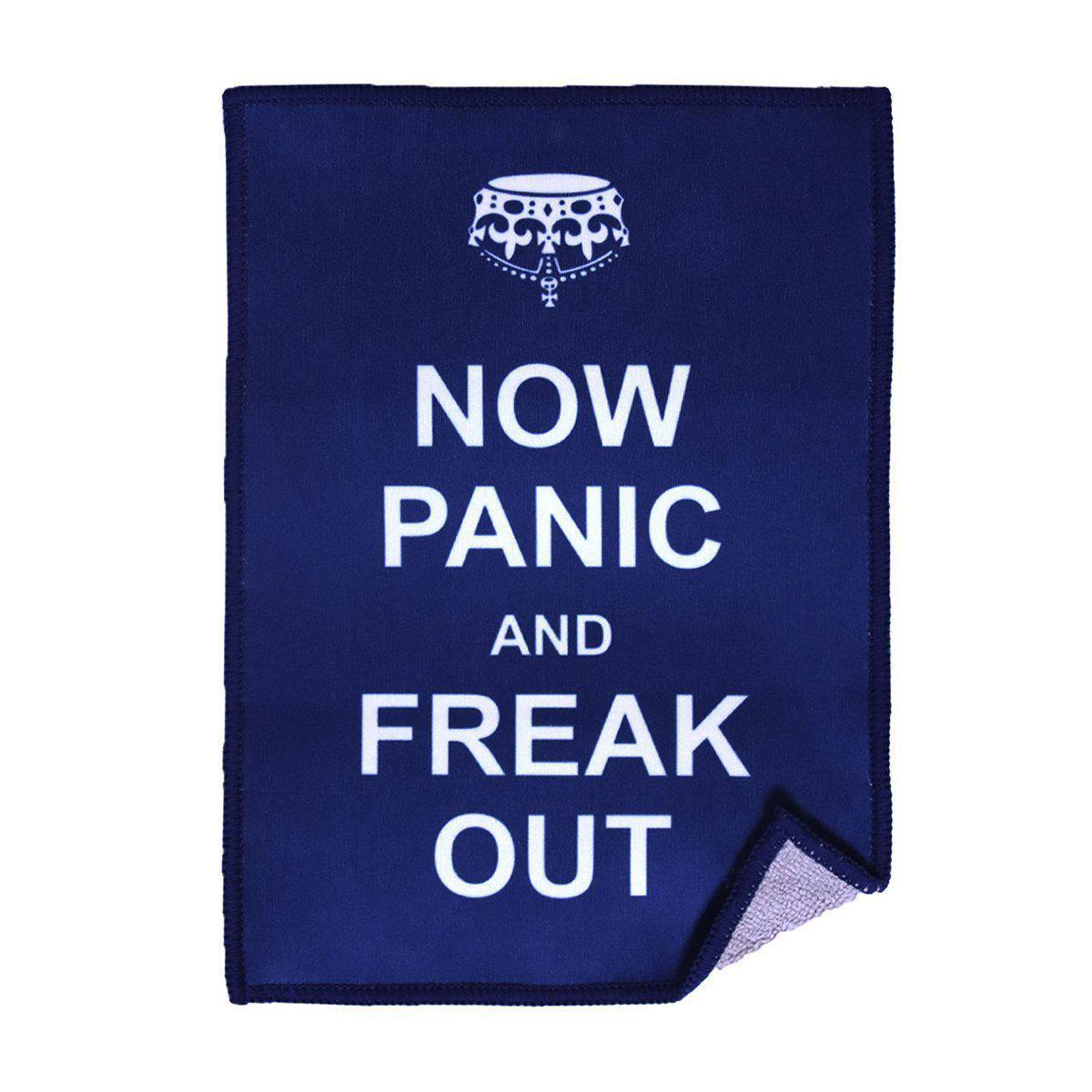 Image of saying Now Panic and Freak Out