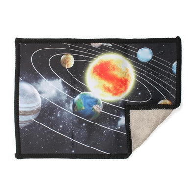 Solar System microfiber cloth provides the best scratch-free cleaning for iPad and features the planets of our solar system