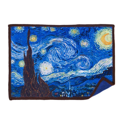 Starry Night microfiber cloth best scratch-free cleaning for iPad famous art by Vincent van Gogh