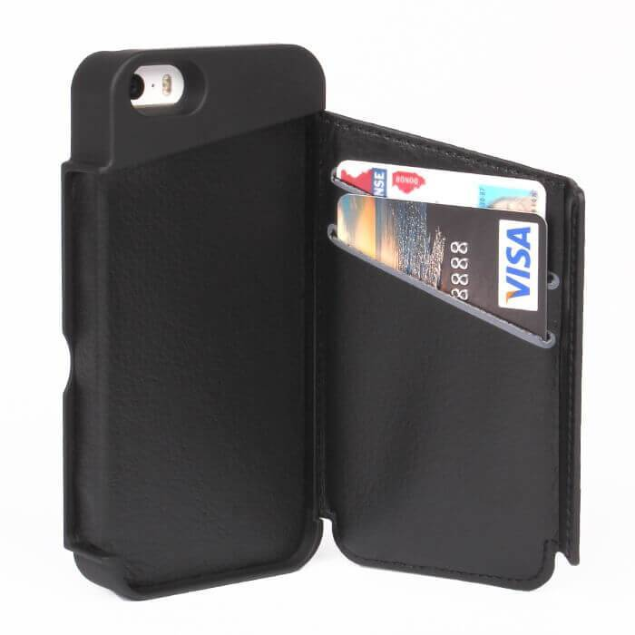 combination wallet and iPhone case