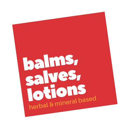 Salves, Balms, Lotions